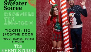 Rock your Ugliest Sweater & Join Us: December 9th