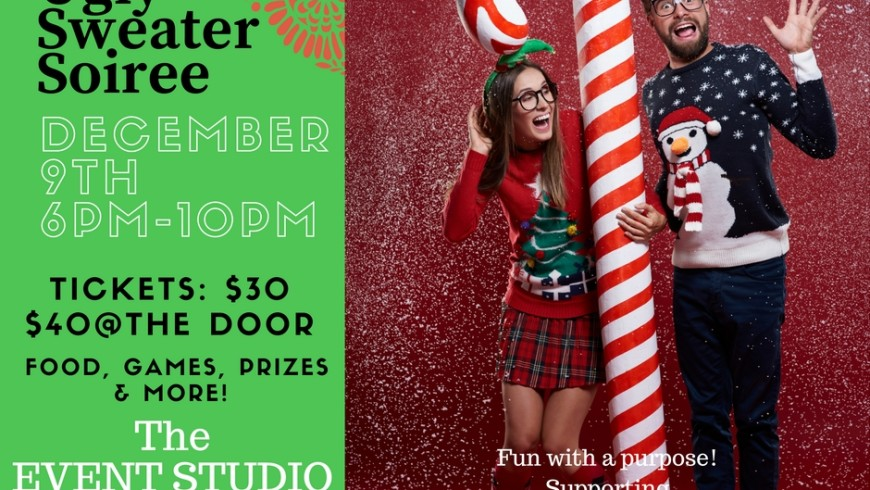 Rock your Ugliest Sweater & Join Us: December 9th CANCELED