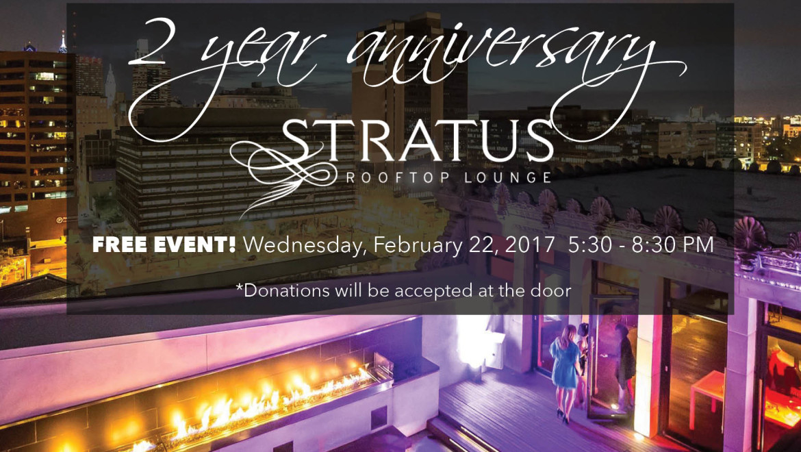 Celebrate 2-years with us! It's a Rooftop Soiree