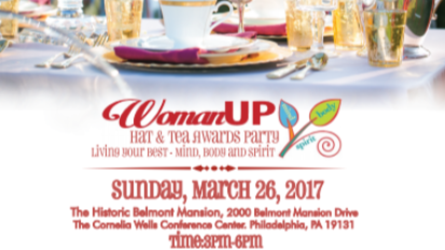 WomanUP! Hat and Tea Awards Party – JOIN US