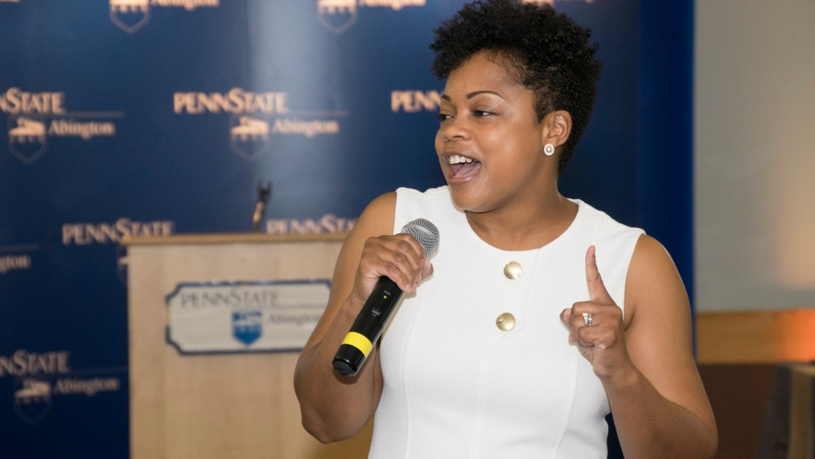 Keynote at Penn State: In the Room, At the Table