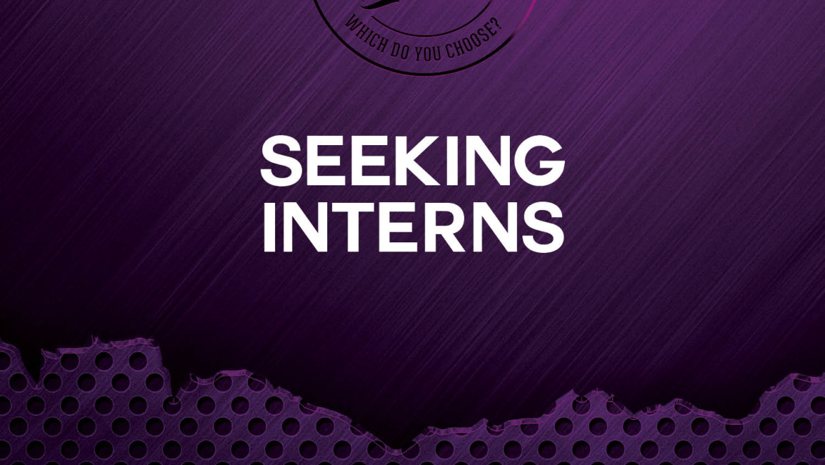 Seeking 2 College Interns: Fall 2017